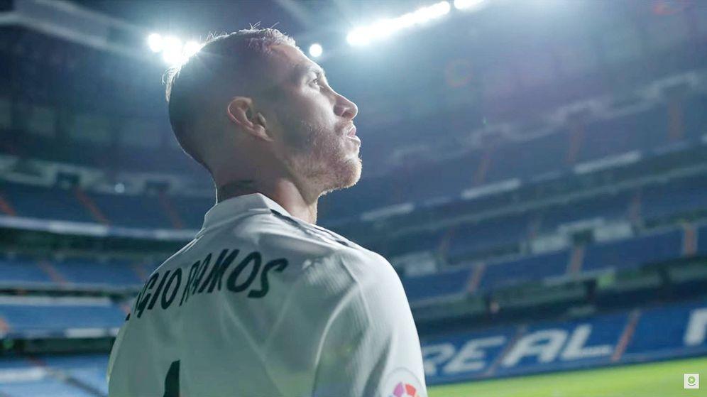 Foto: Sergio Ramos. (Amazon Prime Video)