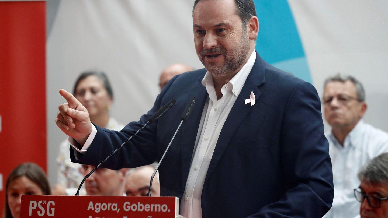 El secretario de Organización del PSOE y ministro de Fomento en funciones, José Luis Ábalos. (EFE)