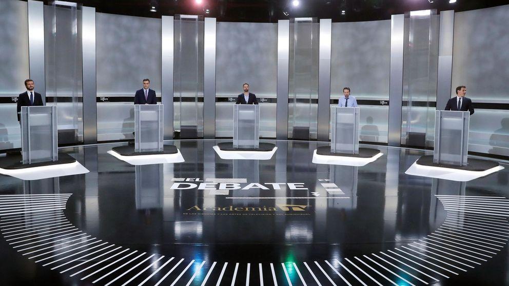 Todos contra Sánchez: así se atacaron los candidatos durante el debate electoral