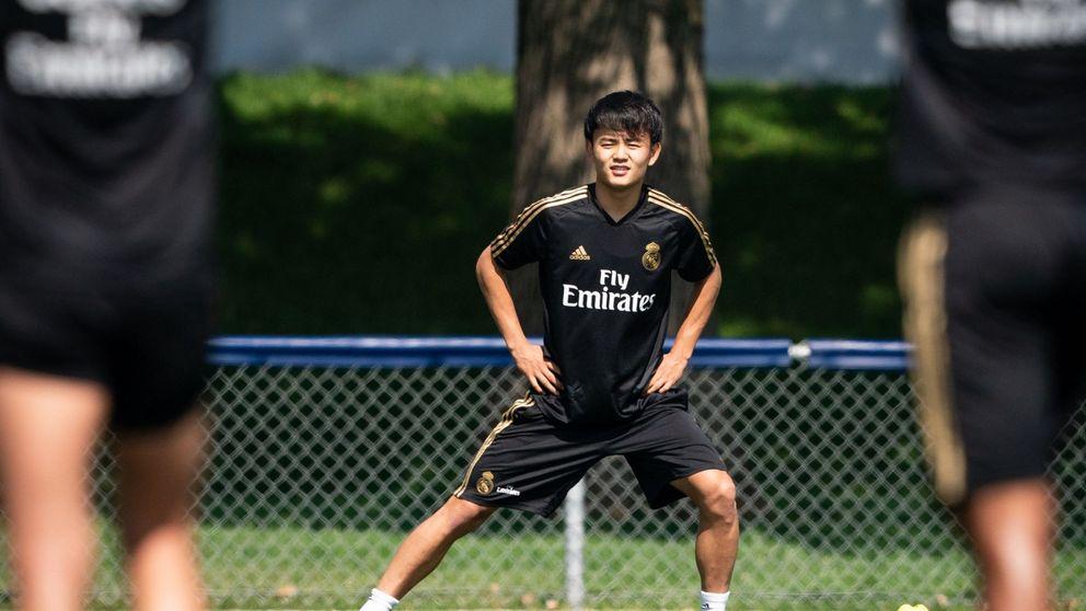 El mosqueo del Barcelona con el agente de Kubo (del que se aprovechó el Real Madrid)