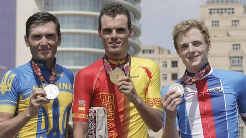 Luis León Sánchez se alza con el oro en la prueba de ruta de los Juegos de Baku