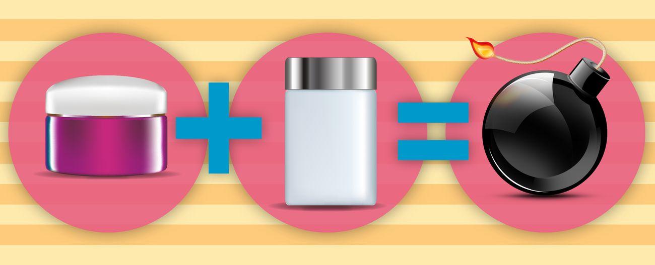 Foto: ¡Cuidado con las mezclas! Los activos cosméticos que es mejor no juntar