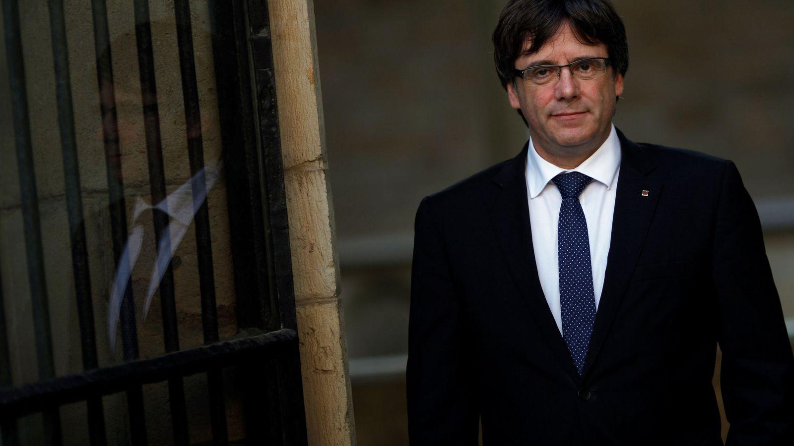 Foto: El presidente de Cataluña, Carles Puigdemont. (Reuters)