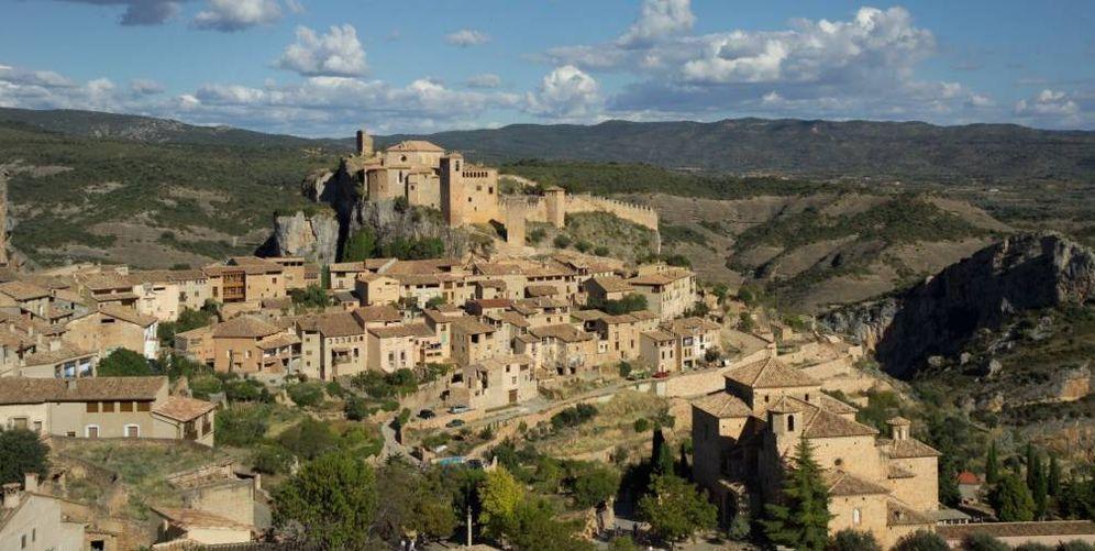 Foto: Alquézar, una villa medieval en medio de un paisaje soberbio. (Cortesía Ruta del Vino Somontano)