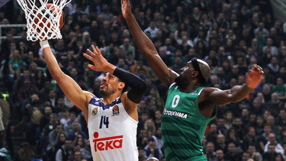 Foto: El Real Madrid no encontró la forma de parar a Chris Singleton, autor de 21 puntos y 9 rebotes. (EFE)