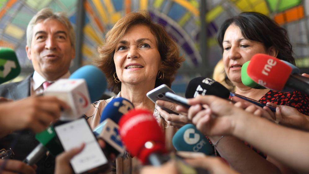Foto: Calvo anuncia que españa acogerá a quince migrantes del open arms