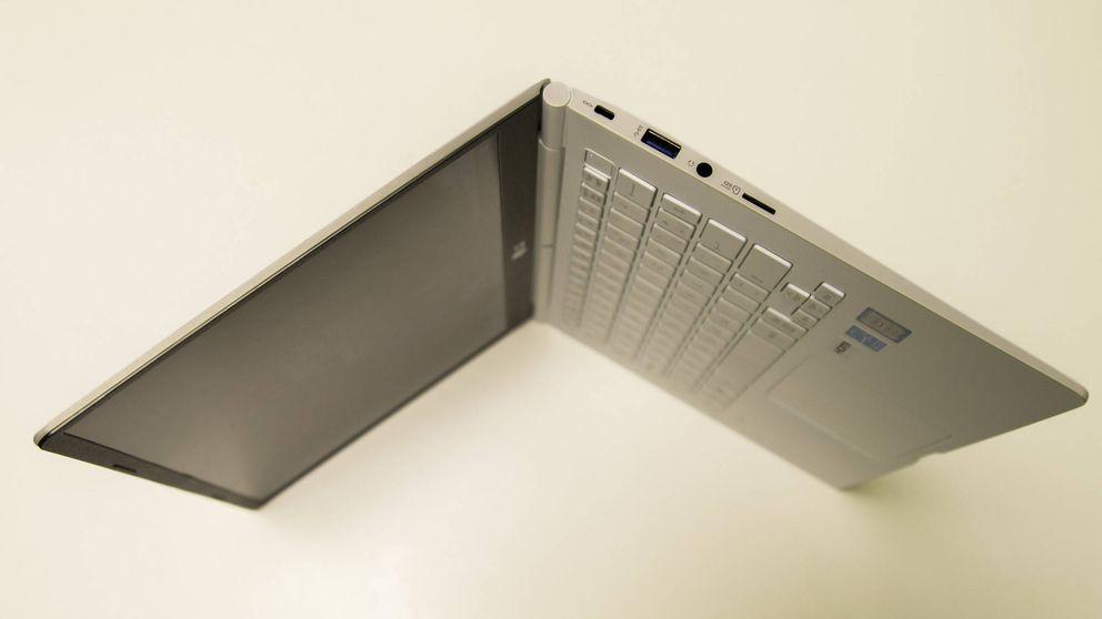 Probamos el LG Gram, el portátil más ligero: 970 gramos nunca dieron tanto