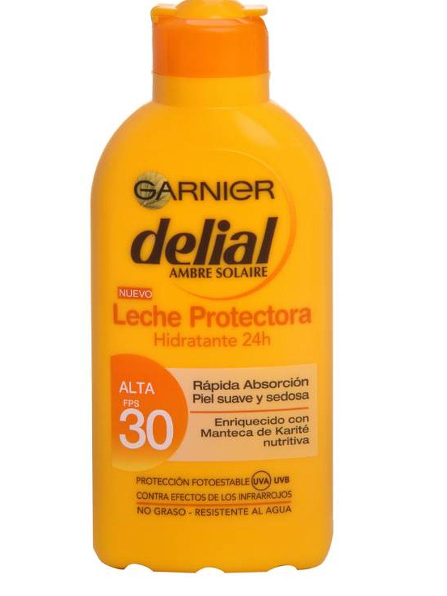 Leche protectora Garnier delial