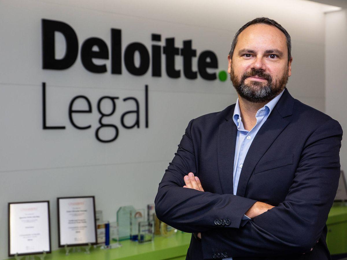Foto: Raúl Rubio, nuevo socio de Deloitte Legal.