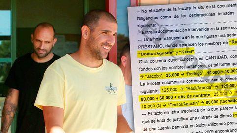 Amaños: la Policía rastrea 900.000 euros de Suiza y anotaciones de Rodrigo y Garai