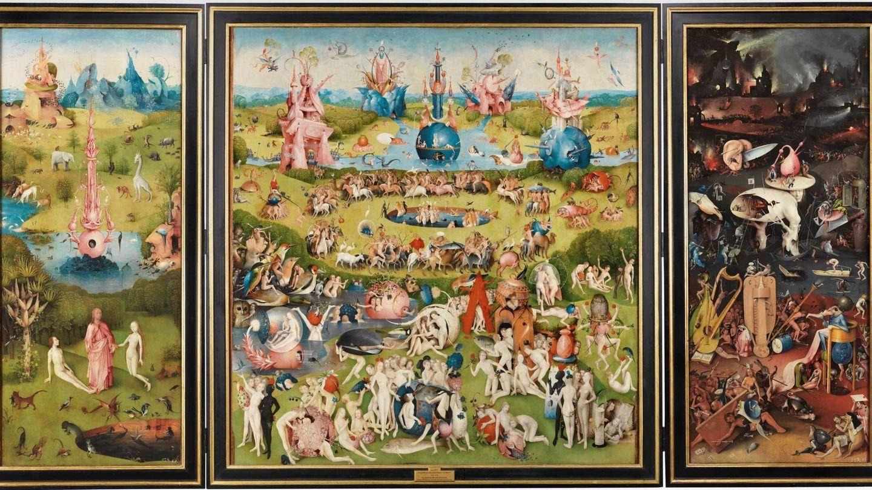 'Tríptico del Jardín de las Delicias'. El Bosco. 1490-1500. Museo del Prado.