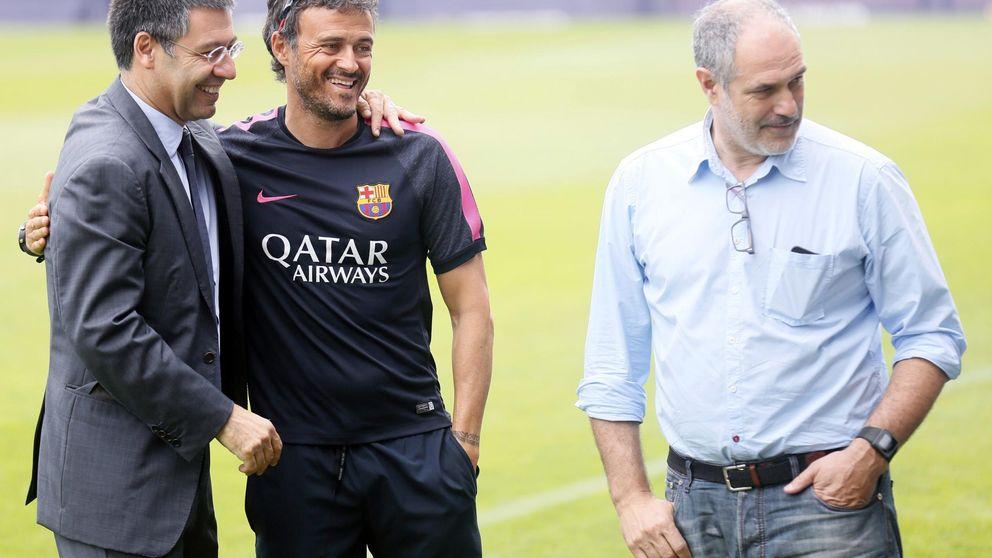 Luis Enrique humilla, Bartomeu asesta... y el Barça ya ha contactado con Monchi