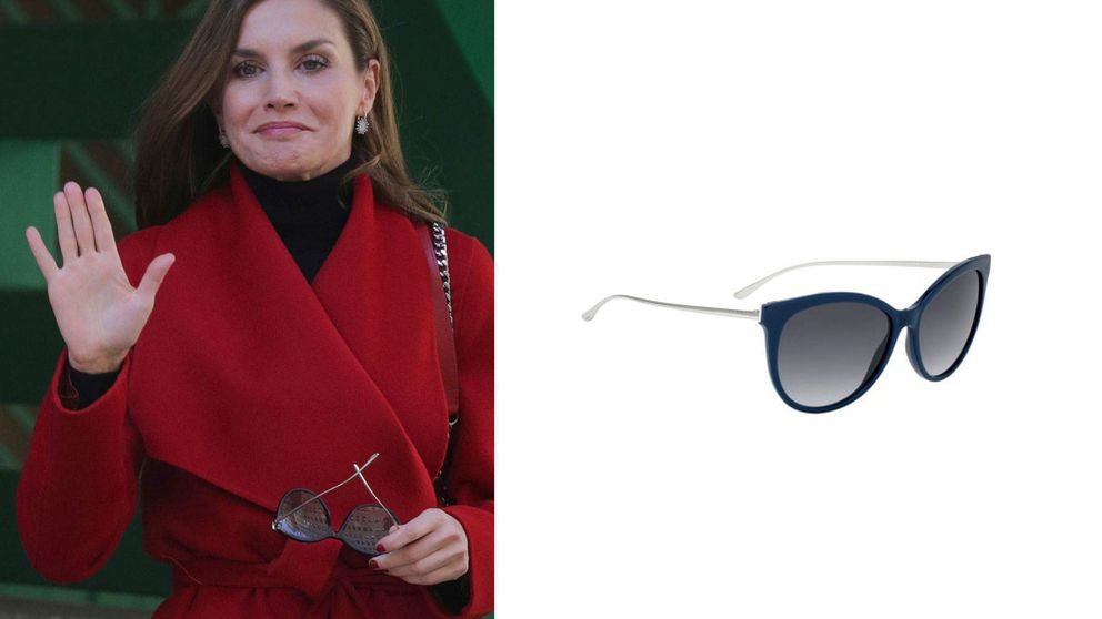 Todos los detalles de la colección de gafas de sol de la reina Letizia