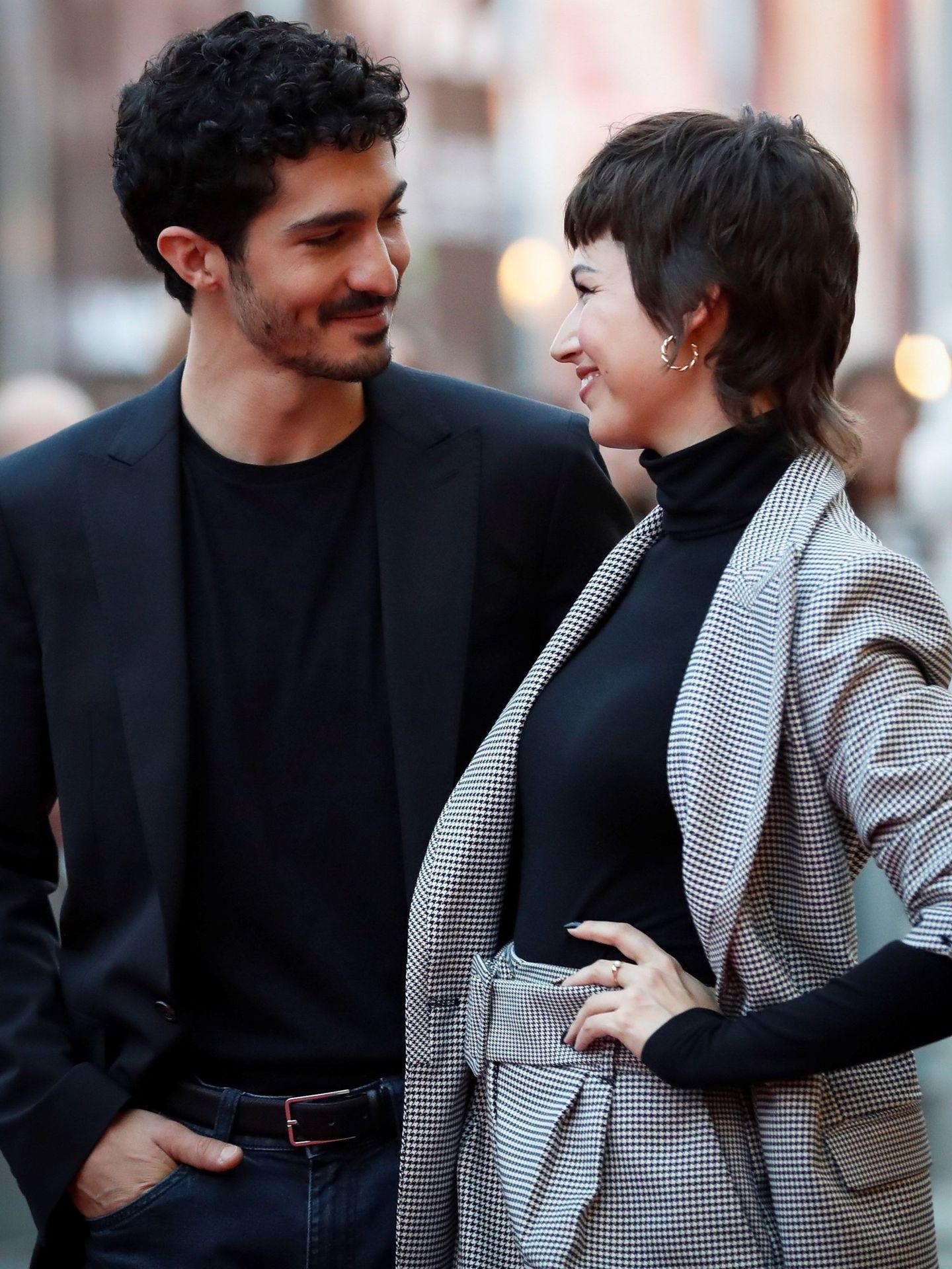 Chino Darín y Úrsula Corberó, en un estreno. (EFE)