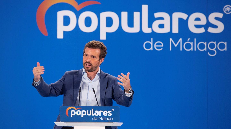 El presidente del PP, Pablo Casado. (EFE)