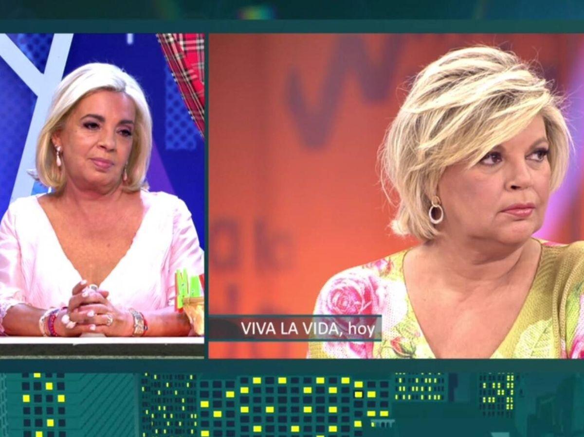 Foto: Carmen Borrego y Terelu. (Telecinco).