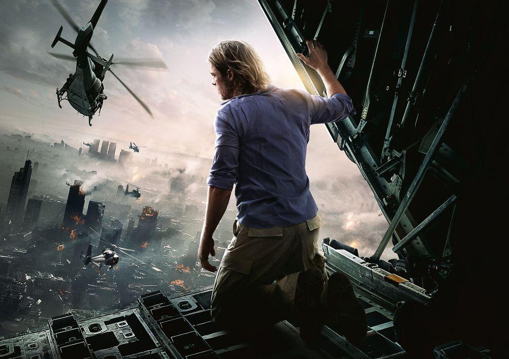 Foto: Una imagen promocional de 'Guerra Mundial Z'. (PARAMOUNT)