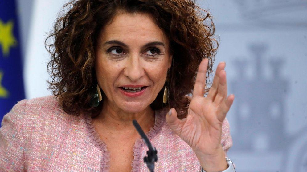 Foto: La ministra de Hacienda, María Jesús Montero (Efe).