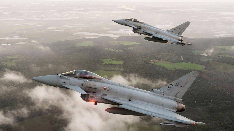 Eurofighters y blindados: el (cuestionado) arsenal que España exhibe el 12 de octubre