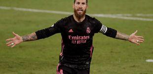 Post de El Real Madrid reina en un partido caótico contra el Betis con un penalti de Bartra