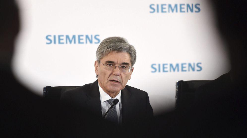 Foto: El presidente y consejero delegado de Siemens, Joe Kaeser. (EFE)