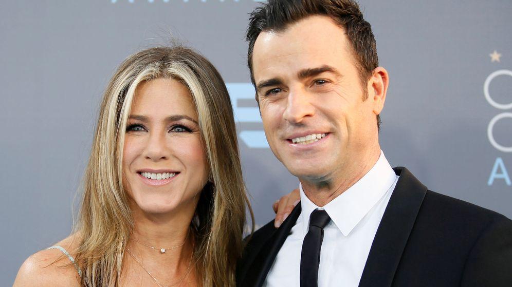 Foto: Jennifer Aniston y Justin Theroux. (Reuters)