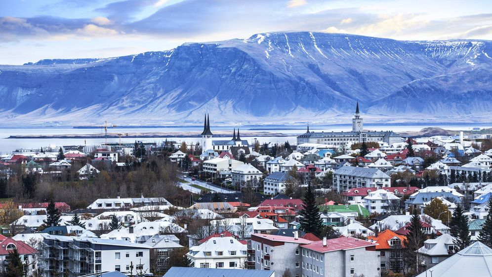 Foto: Reykjavik desde lo alto. (iStock)