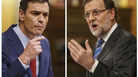 Rajoy y Sánchez se enfangan en el último debate del bipartismo