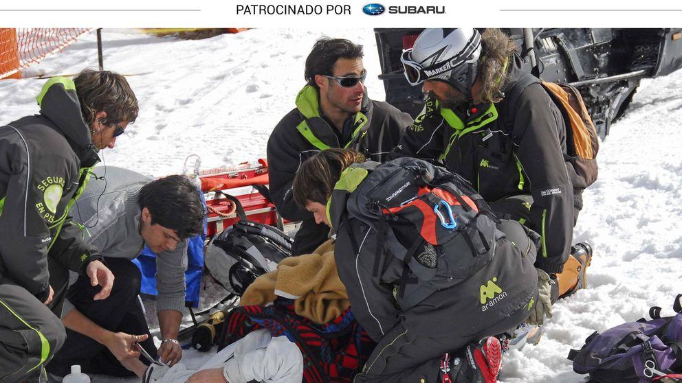 Consejos para evitar el temor de todo esquiador, la rotura del cruzado