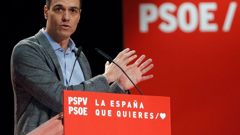 Foto: Pedro Sánchez, en un acto este fin de semana. (EFE)