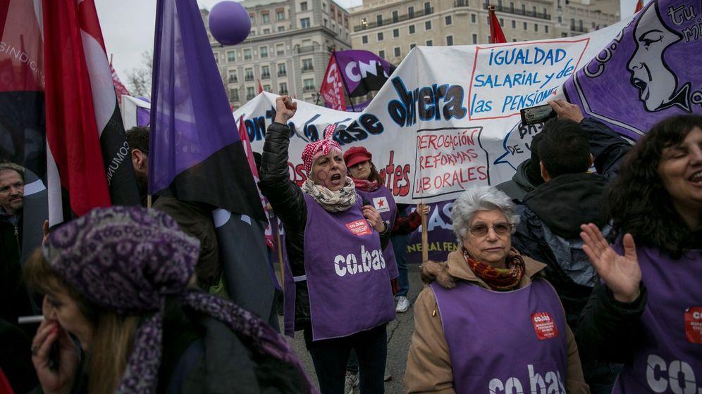 Foto: Día Internacional de la Mujer en Madrid. (EFE)