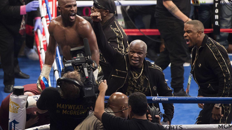 Mayweather superó el récord combates invicto de Rocky Marciano. (EFE)