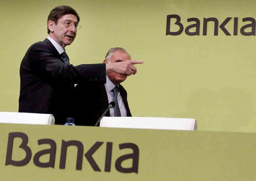 Foto: José Ignacio Goirigolzarri en una Junta de accionistas (EFE)