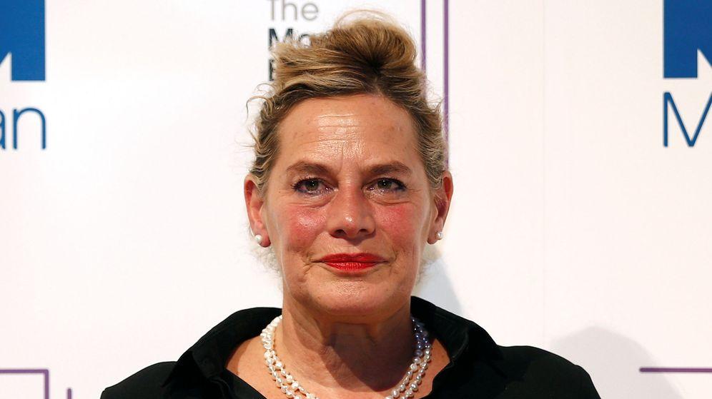 Foto: Deborah Levy en los premios Man Booker de 2016. (Reuters)