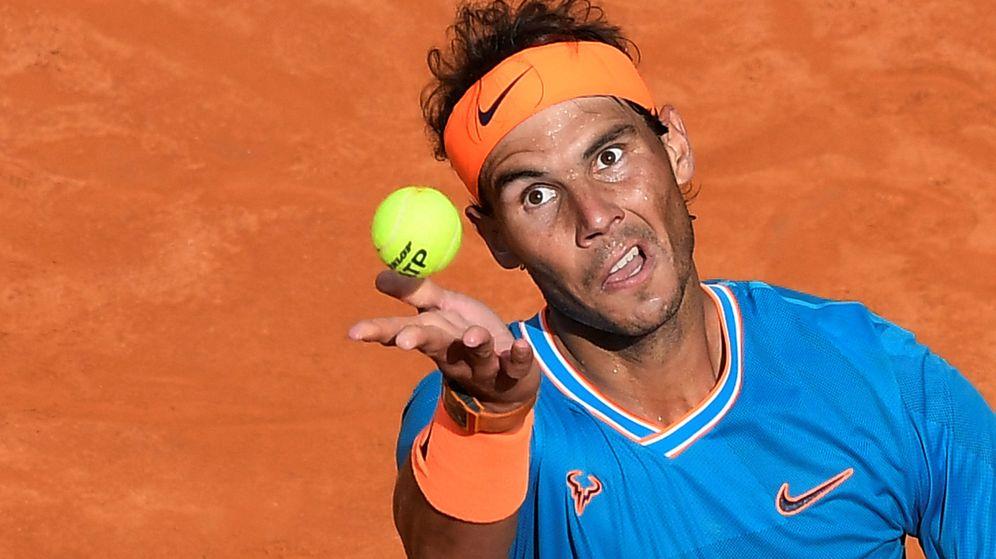 Foto: Rafa Nadal jugará su undécima final en el Foro Itálico. (Reuters)