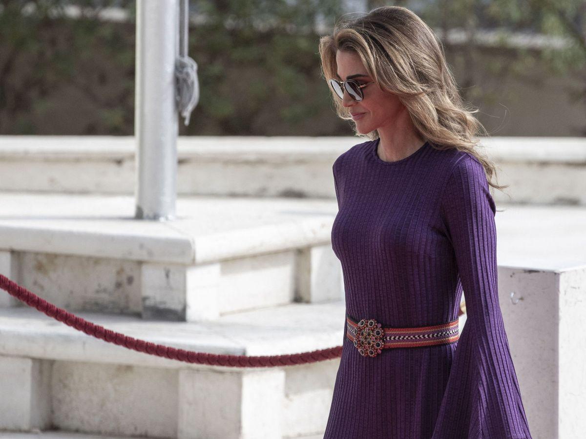 Foto: La reina Rania de Jordania, en una imagen de archivo. (EFE)