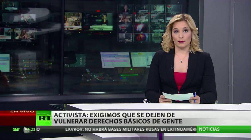 Foto: Captura de pantalla de un informativo de RT en español