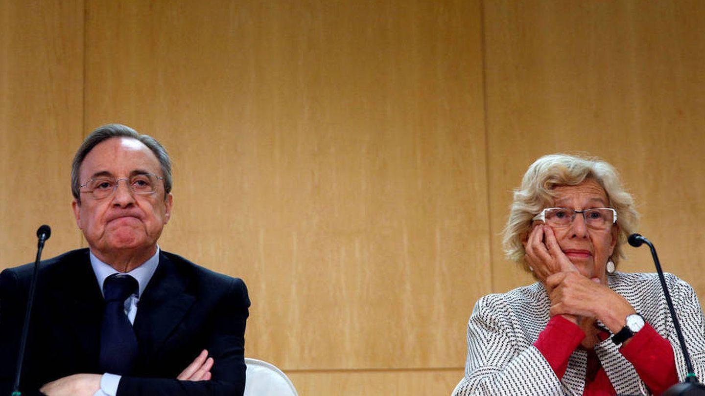 El Gobierno de Carmena negoció con el grupo de Florentino para resolver de mutuo acuerdo el contrato.