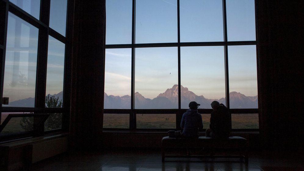 Foto: Foto de archivo del atardecer en Jackson Hole. (Reuters)