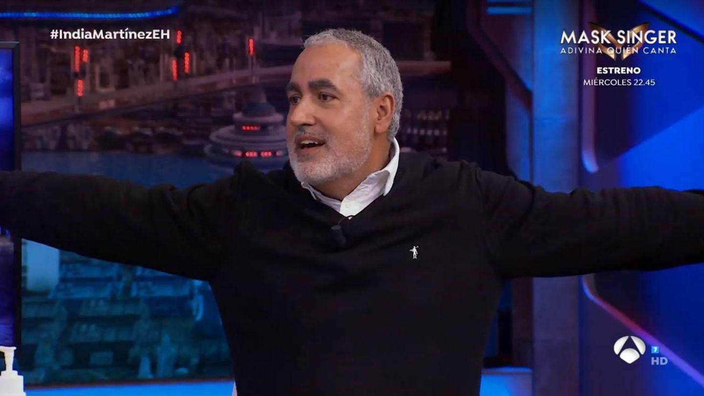 Jorge Salvador, en 'El hormiguero'. (Atresmedia)
