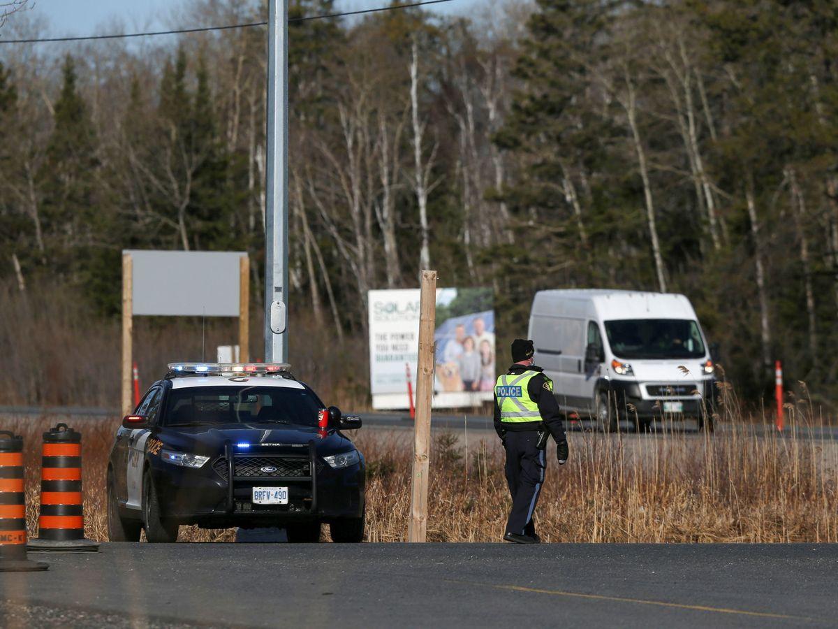 Foto: Policía en Ontario, en una imagen de archivo. (Reuters)