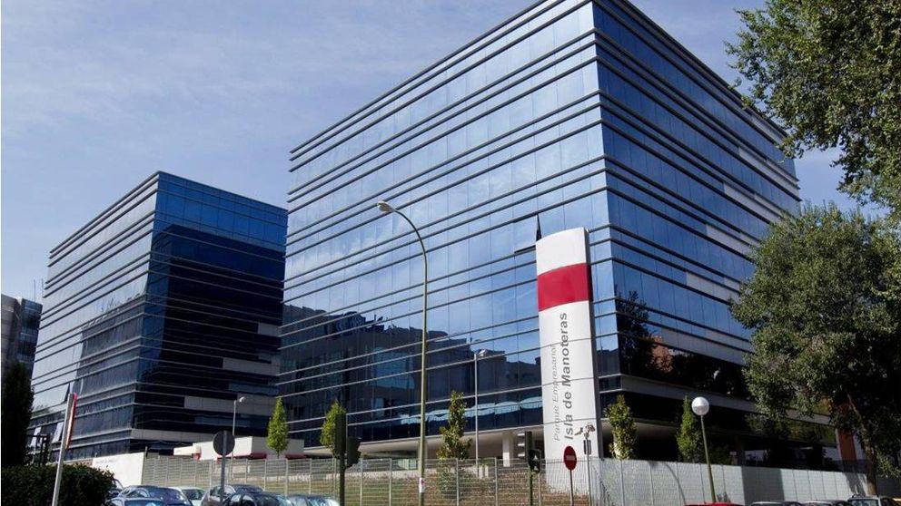 La socimi Trajano recibe ofertas de 60m por el parque empresarial Manoteras 48