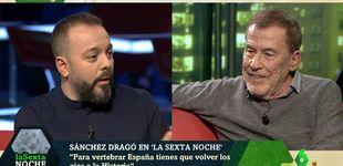 Post de Dragó y Maestre se enfrentan en 'La Sexta noche' por el término