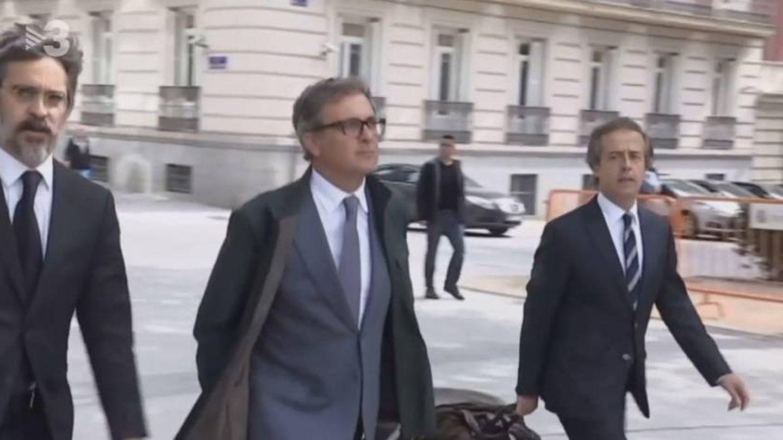 Jordi Pujol Ferrusola, en TV3. (CCMA).