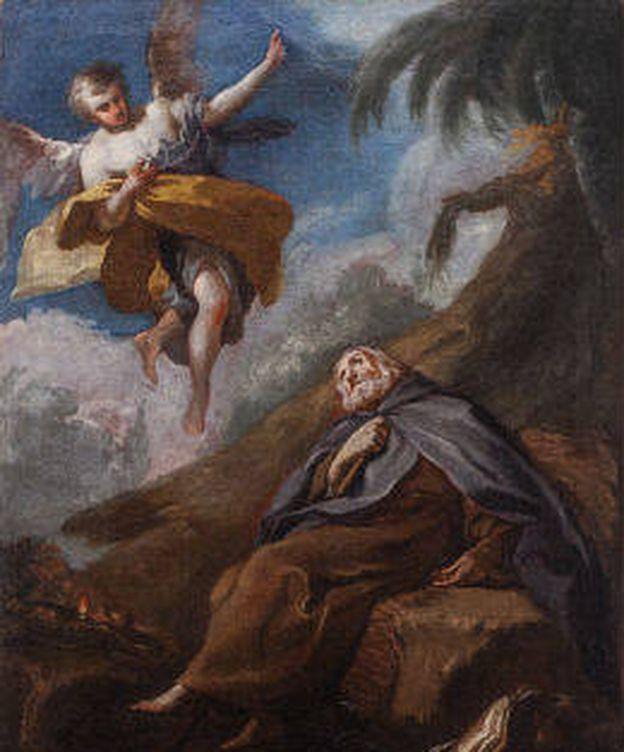 Foto: 'Muerte de San Antonio Abad', atribuido a Francisco de Goya (Alcalá Subastas)