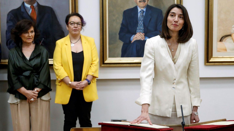 Llop, cuando asumió el cargo de delegada del Gobierno para la Violencia de Género, en julio de 2018. (EFE)