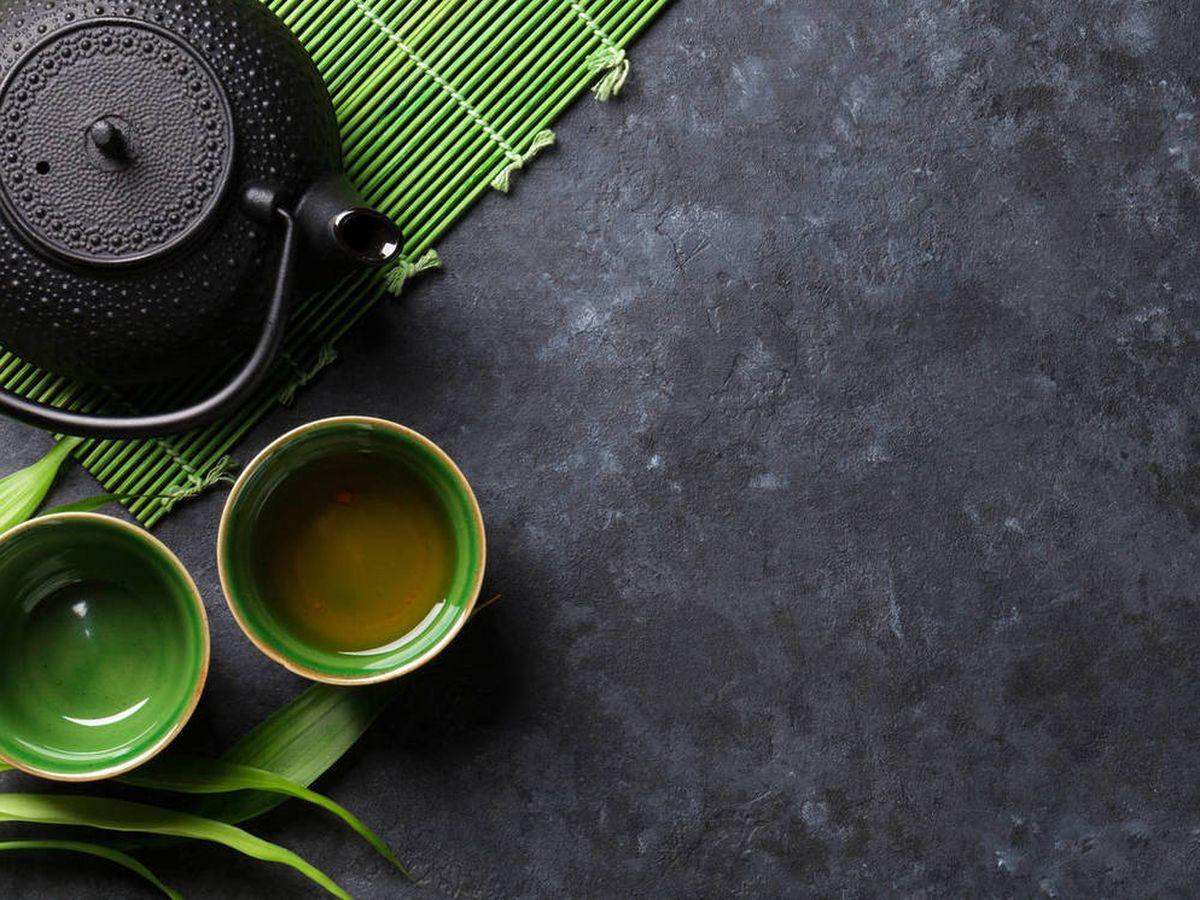 Foto: Té verde japonés. (iStock)