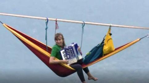 Un concierto de altura: músicos tocan a 1.400 metros de altitud en China