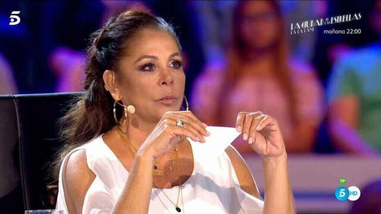 Isabel Pantoja, en 'Idol Kids'. (Telecinco)