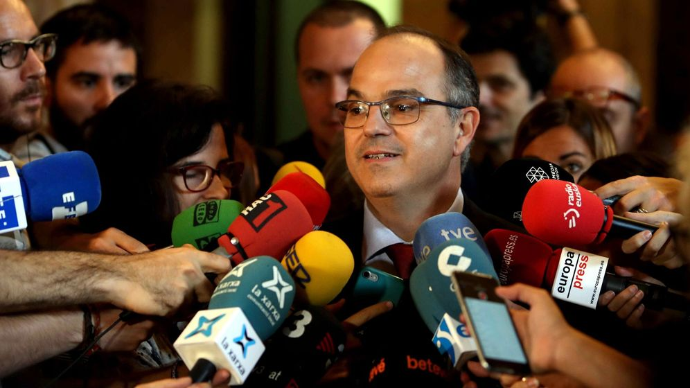 Foto: El conseller de la Presidencia, Jordi Turull. (EFE)